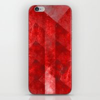 discount iPhone & iPod Skins featuring Ruby Nebulæ by Aaron Carberry