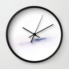 Forest In The Sky Wall Clock