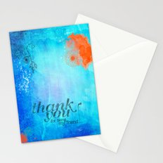 Thank you for being my friend! Stationery Cards