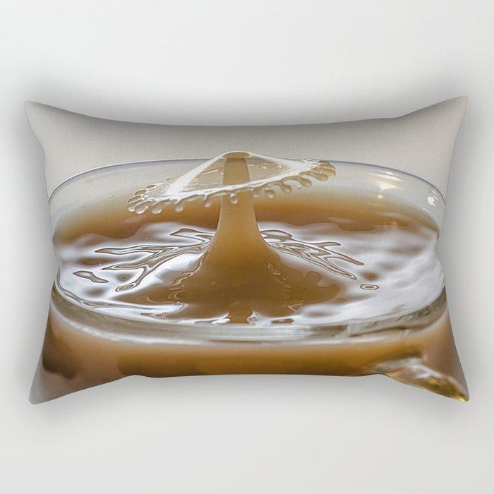 Coffee drop mushroom Rectangular Pillow