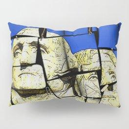 Mount Rushmore memo pad Pillow Sham