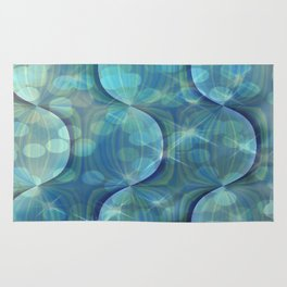 Twilight Dreams Abstract Rug