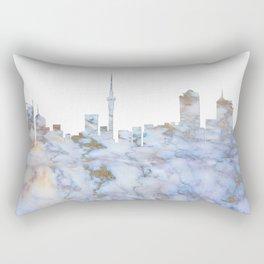 Auckland Skyline New Zealand Rectangular Pillow
