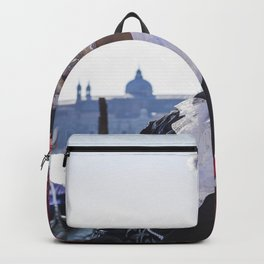 Couple of carnival masks in Venice Backpack