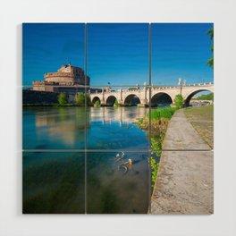 Castel Sant'Angelo - Rome Wood Wall Art