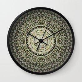 Fractal Kaleido Study 004 in CMR Wall Clock