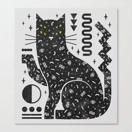 Magic Cat Canvas Print