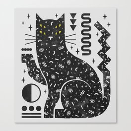 Magic Cat Canvas Print