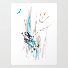 Skilled Sagittarius Art Print