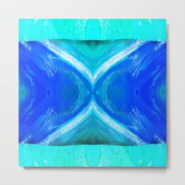 483 - Abstract colour design Metal Print