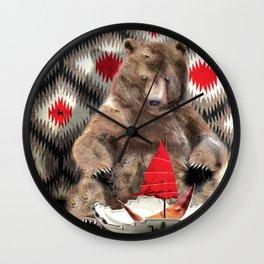 Big Bear Wall Clock