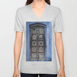 Doors Of Rajasthan IV Unisex V-Neck
