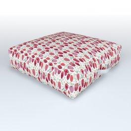 Strawberries Outdoor Floor Cushion