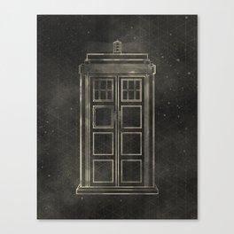 Doctor Who: Tardis Canvas Print