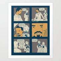 django Art Prints featuring Django by Derek Eads