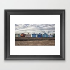 The Huts Framed Art Print