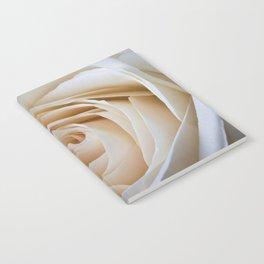 Creamy Rose Notebook