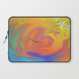 The Key to My Heart Laptop Sleeve
