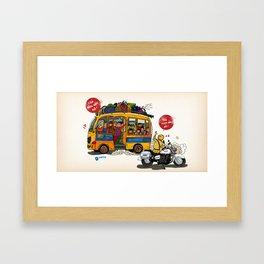 Go Home  Framed Art Print