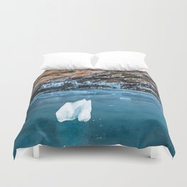 The Ice Grotto Duvet Cover