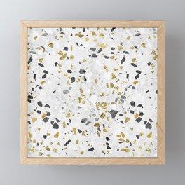 Glitter and Grit Framed Mini Art Print