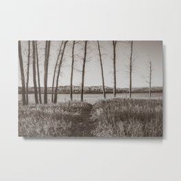 Downstream Campground, North Dakota 31 Metal Print