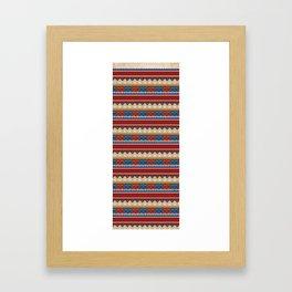 Navajo Pattern 2 Framed Art Print