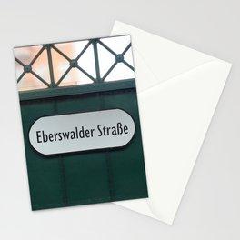 Berlin U-Bahn Memories - Eberswalder Straße Stationery Cards