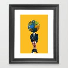 Jobless Framed Art Print