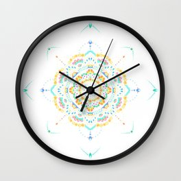 amber daydream Wall Clock