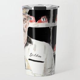 """The Big Lebowski """"Saddam"""" Travel Mug"""