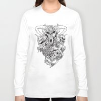 monsters Long Sleeve T-shirts featuring monsters by Teenn