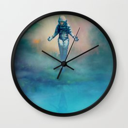 Crucified in Time Wall Clock