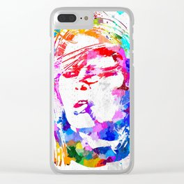 Bardot Watercolor Clear iPhone Case