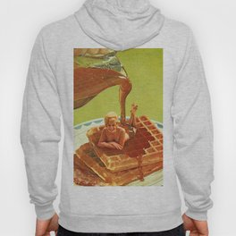 Pour some syrup on me - Breakfast Waffles Hoody