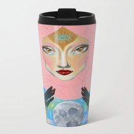 Hands of the Moon Metal Travel Mug