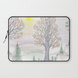Paths to the Sunny Side Laptop Sleeve