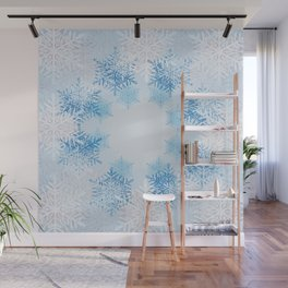 Frost on the Window Wall Mural