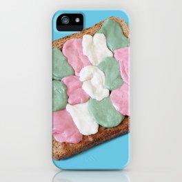 Tartine à mâcher iPhone Case