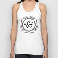 ampersand Tank Tops featuring Ampersand by creative index