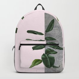 Pot plant - concrete Backpack