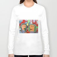 mars Long Sleeve T-shirts featuring Mars by luisyiyo