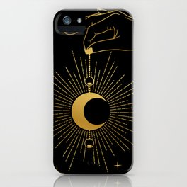 Miss Infinity iPhone Case