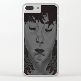 A Boy with Monsters Clear iPhone Case