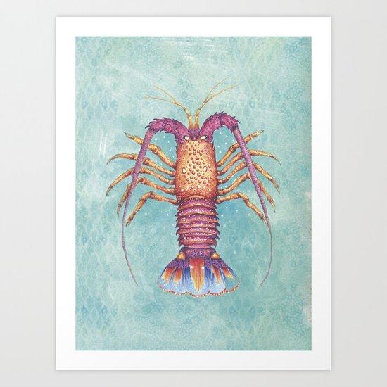 lobster Art Print