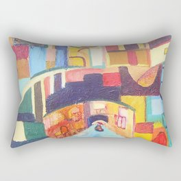 architectural fantasy Rectangular Pillow