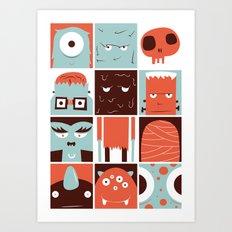 The Monster Club Art Print