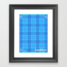 tradition single hop Framed Art Print