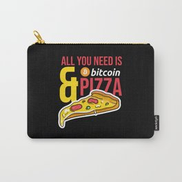 Bitcoin Pizza Day Carry-All Pouch