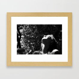 absorb. Framed Art Print